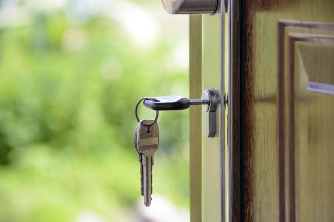 sleutel-slot